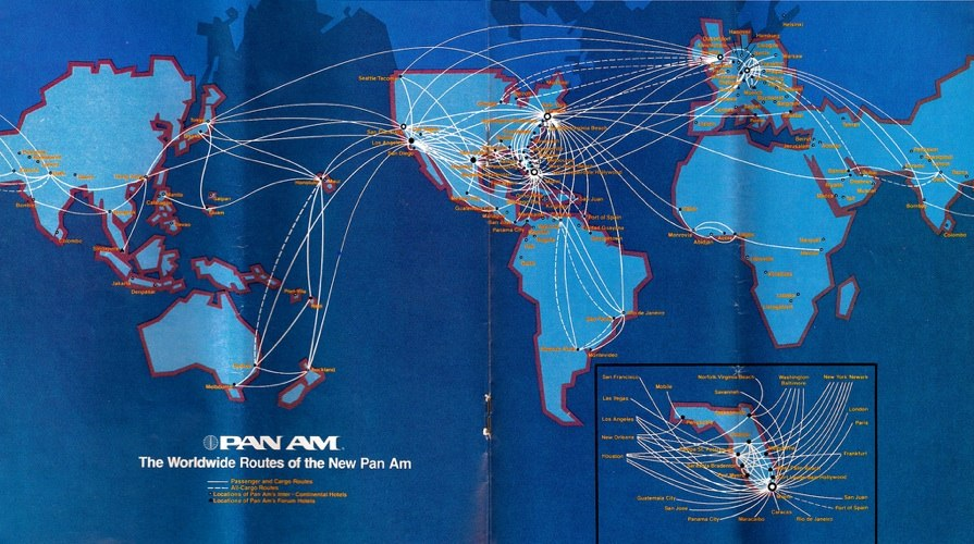 similarly look at pan am s 1980 route map
