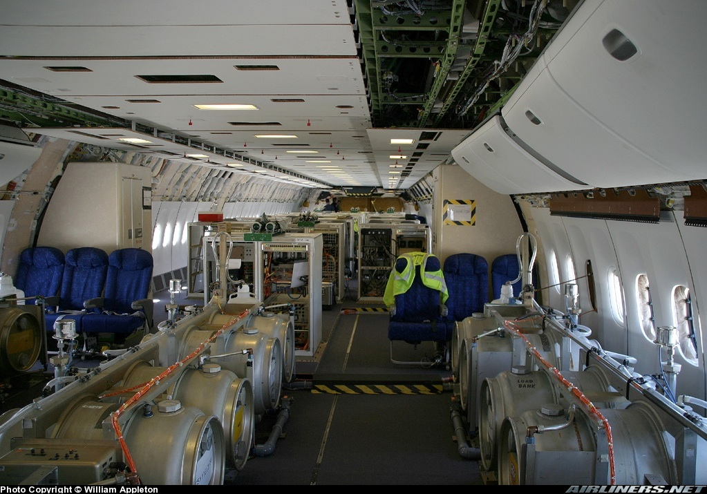 Photos  Boeing 777 240 LR Aircraft Pictures  Airliners.net 20120720 164708 Inside a Chemtrail Plane   Amazing Photos