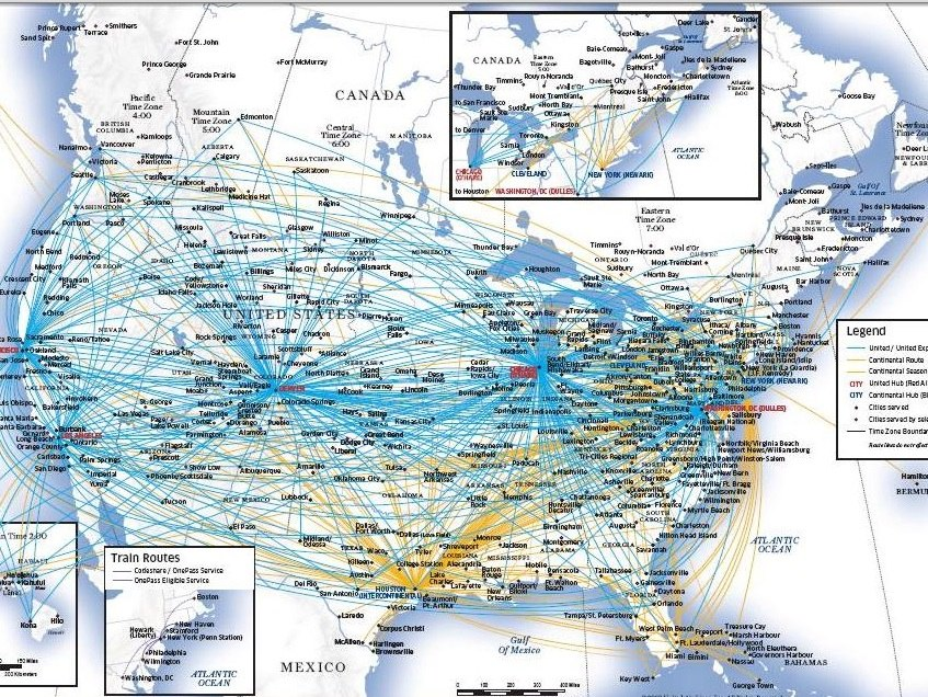 30 Years of Airline Travel – Contrail Science